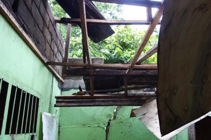 Orphanage damage
