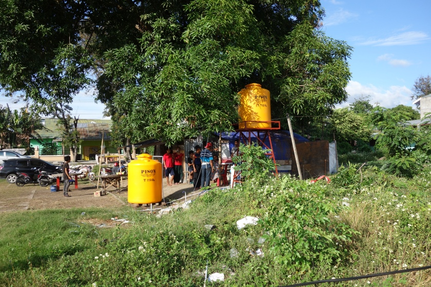 Skyhydrant with header and storage tanks.JPG